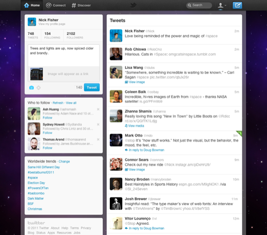 twitter new version