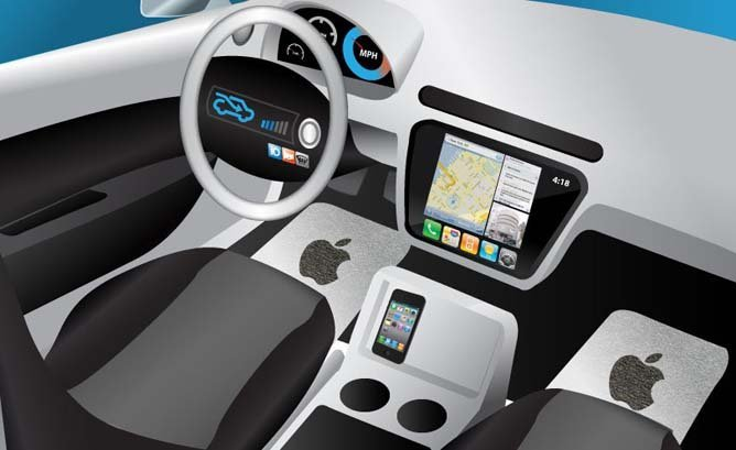 apple ios in car