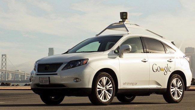 google driving car