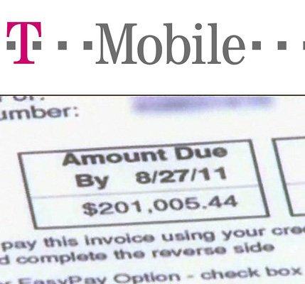 t-mobile phone bill