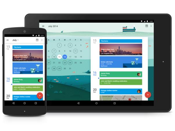 google calendar app