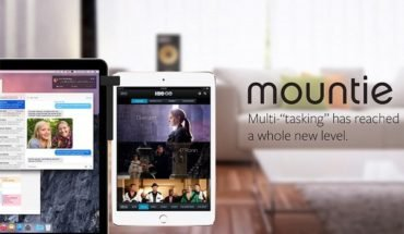 mountie for dual display setup using your ipad and macbook