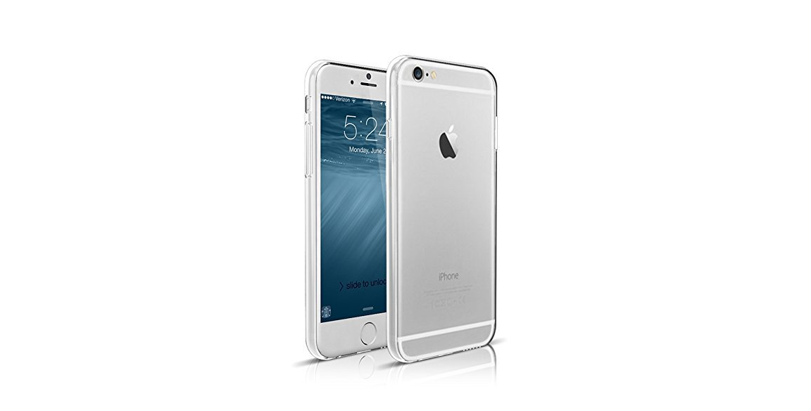 Ravierri Crystal-Clear Slim Case for iPhone 6 protects your device without compromising on its looks