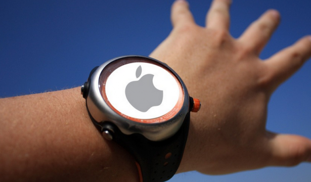 curved battery iwatch