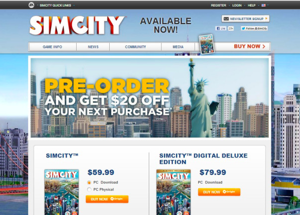 optimizely sim city prelaunch