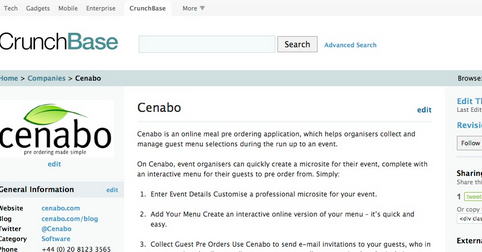 crunchbase new mobile site