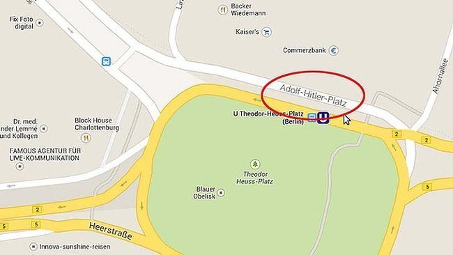 google nazi map mistake