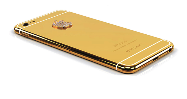 Get your iPhone 6 Plated in 24 Carat Gold