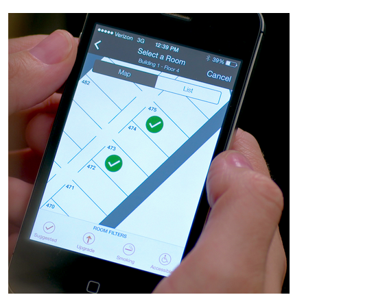 Hilton Allows Guest to Check In Using Smartphone