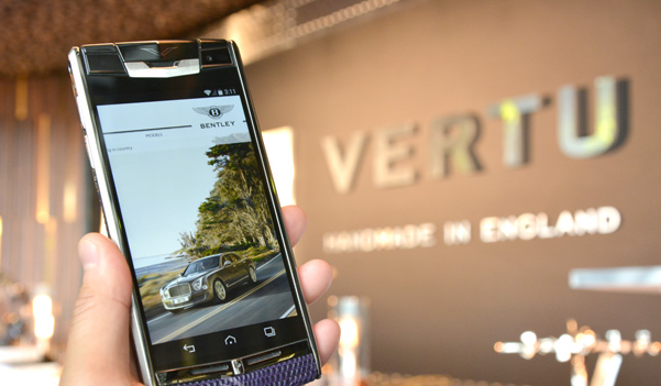 Bentley Teams Up with Vertu to Create Luxury Smartphone