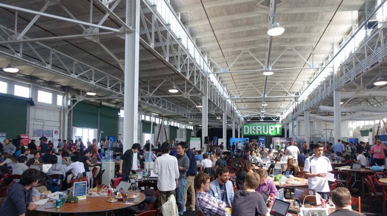 Disrupt SF Hackathon Has Begun