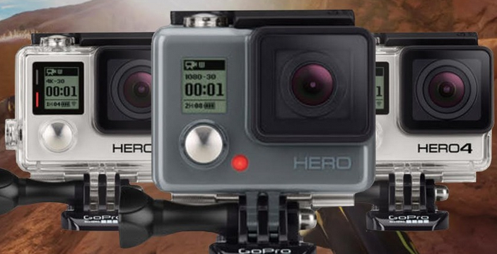 GoPro Announces Three New Cameras