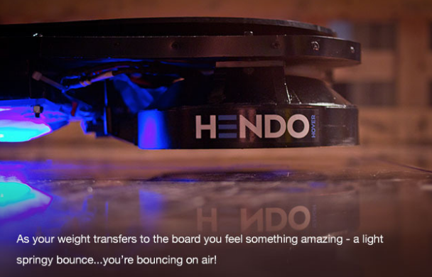 The Hoverboard is Here