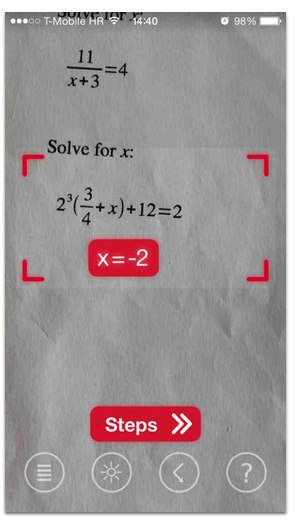 PhotoMath App Does your Math Homework For You