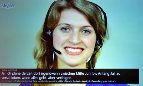 Skype to Translate Different Languages in Real Time