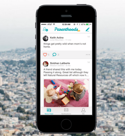 Parenthoods: The Social Network App for Parents