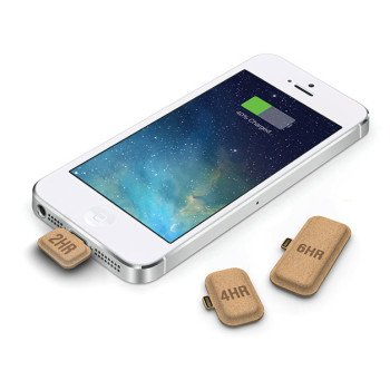 Disposable Cardboard Battery Charger for iPhone, not another Battery Case