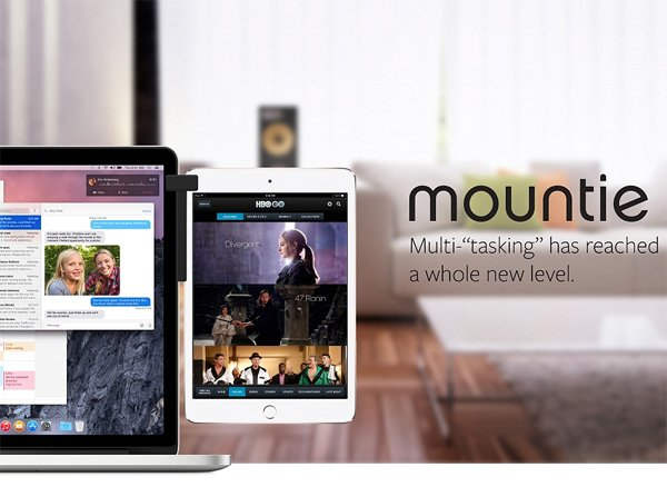 Ten One Design's Mountie makes having dual screen setup using Mac and iPad more convenient