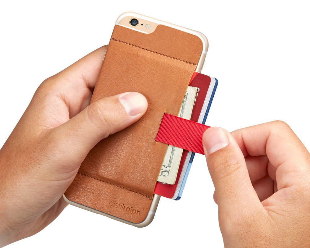 Wally Stick-On Wallet turns your iPhone 6 into a slim wallet