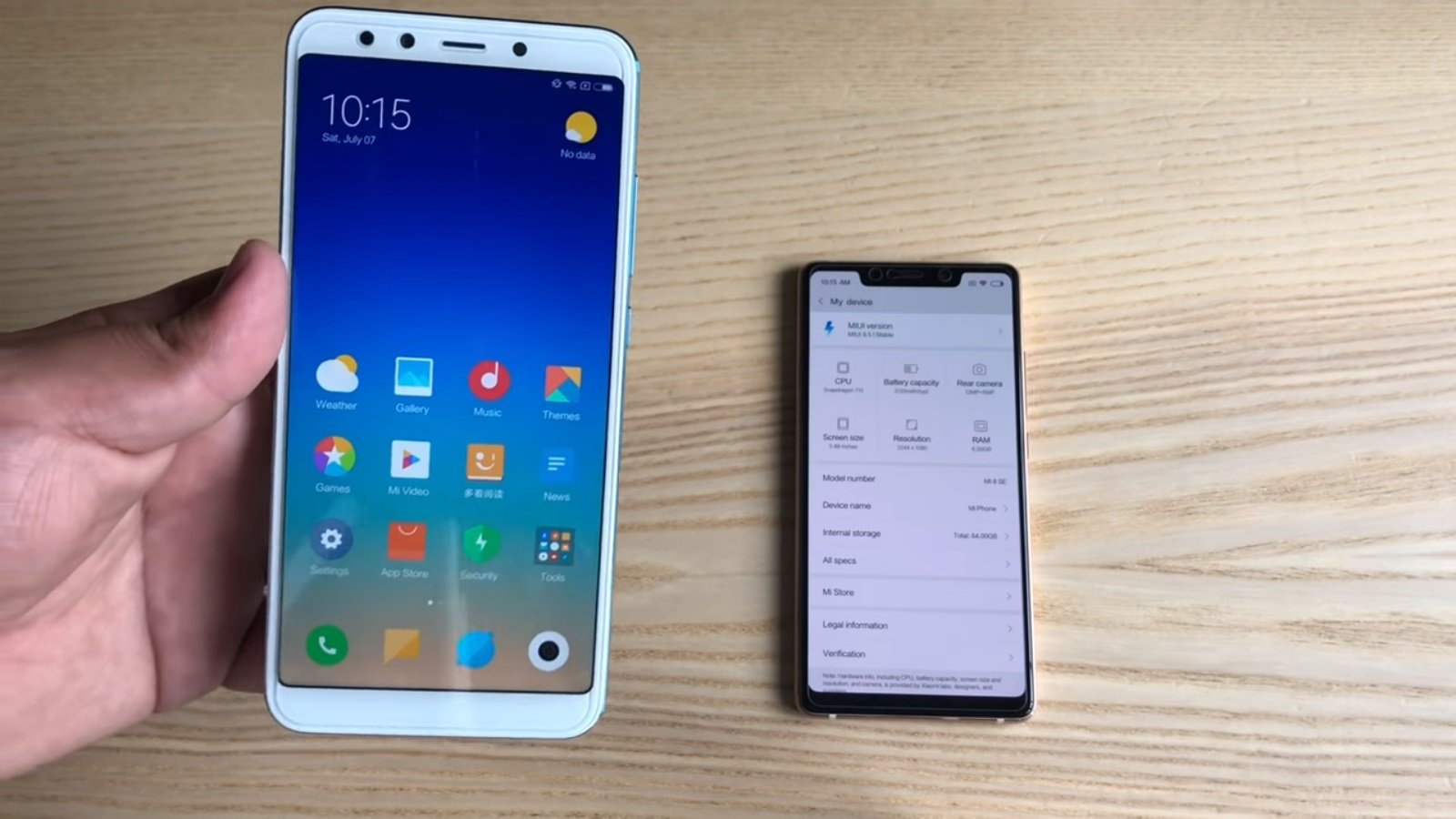 Xiaomi Mi A2 and Mi A2 Lite leaked all the details!