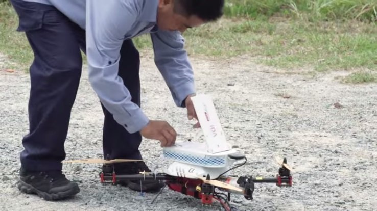 Drones to Deliver Mail in Singapore