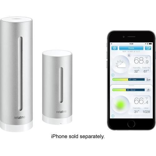 Netatmo Wireless Weather Station for all your weather monitoring needs